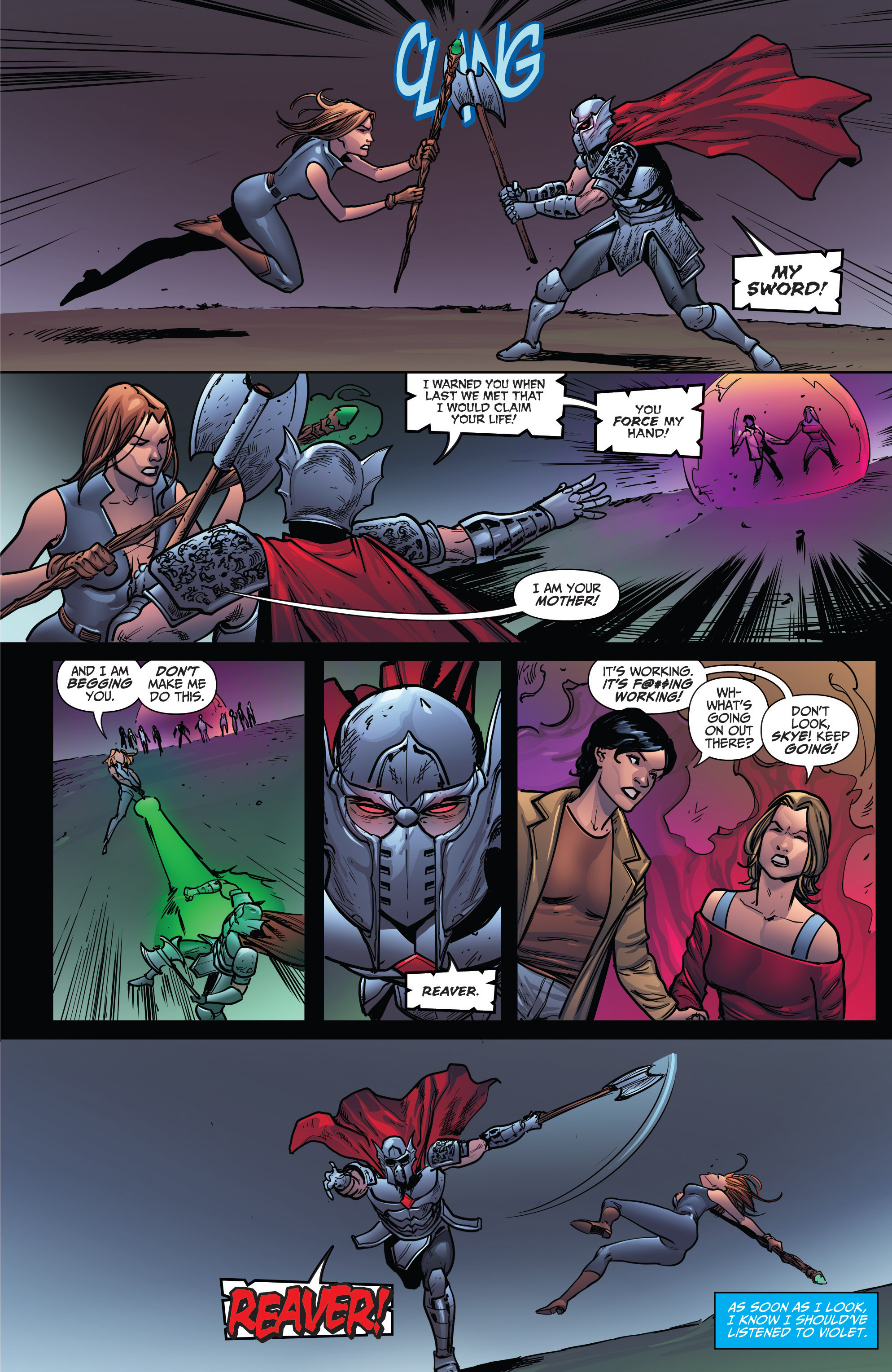 Read online Grimm Fairy Tales: Arcane Acre comic -  Issue # TPB 4 - 181