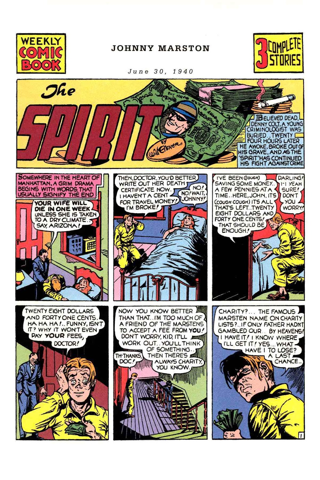 Read online Will Eisner's The Spirit Archives comic -  Issue # TPB 1 (Part 1) - 30