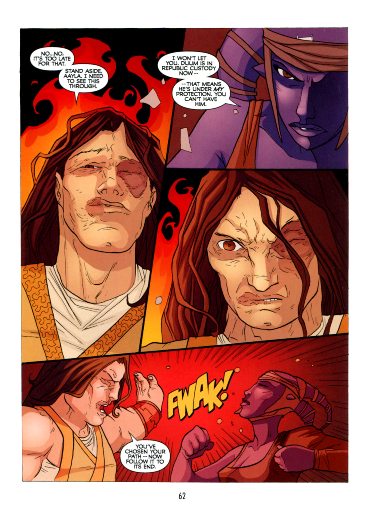 Read online Star Wars: The Clone Wars - Deadly Hands of Shon-Ju comic -  Issue # Full - 63