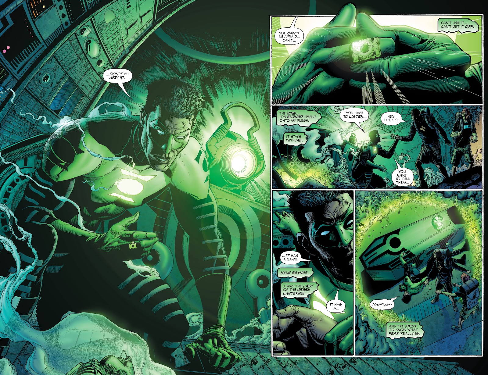 Read online Green Lantern by Geoff Johns comic -  Issue # TPB 1 (Part 1) - 16