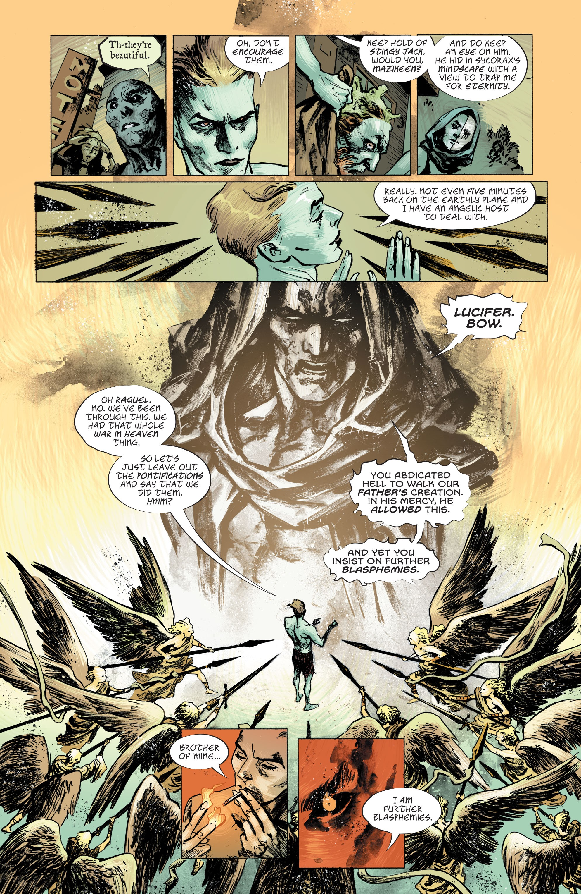 Read online Lucifer (2018) comic -  Issue #7 - 2