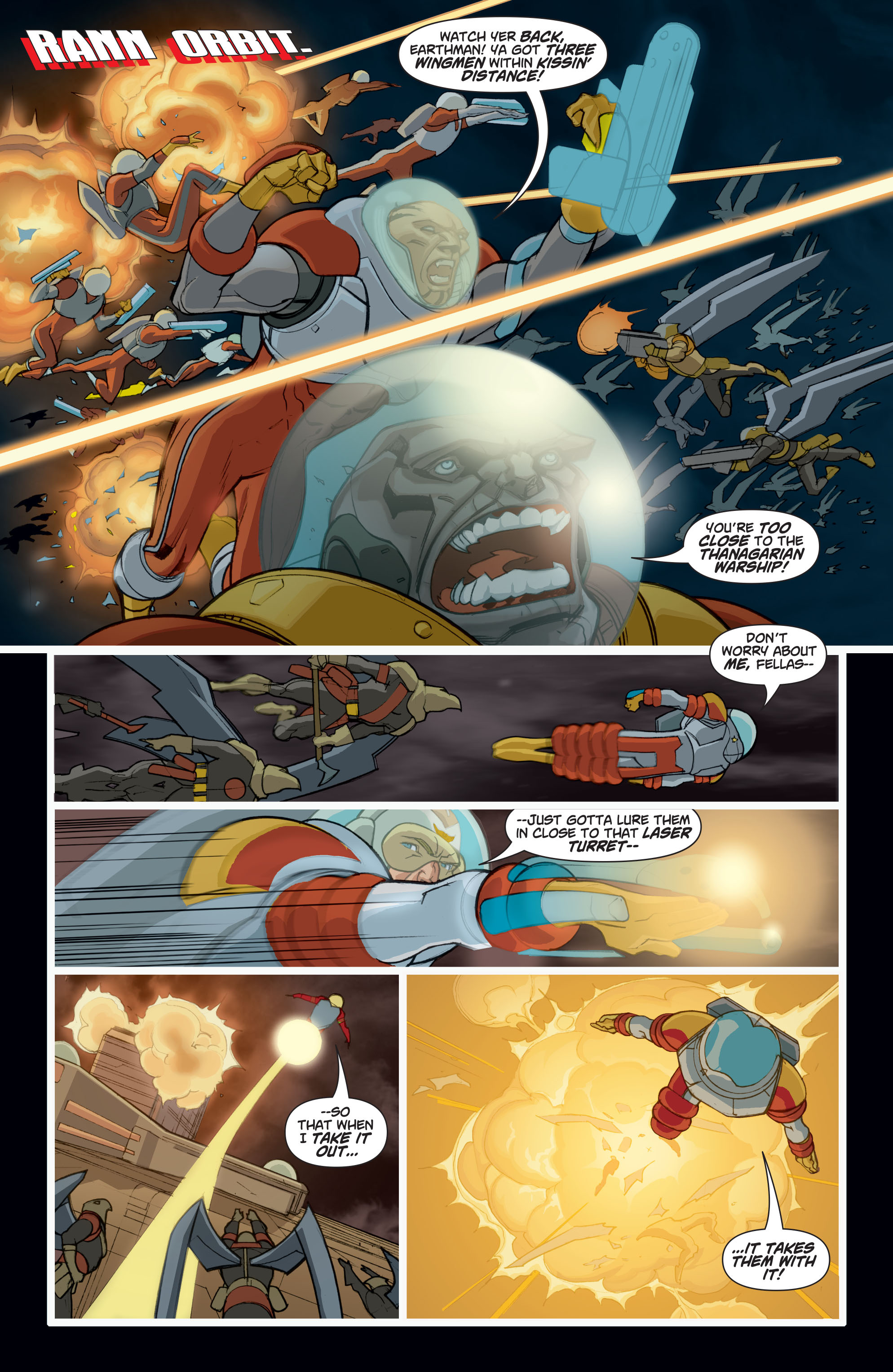Read online Adam Strange (2004) comic -  Issue #8 - 3