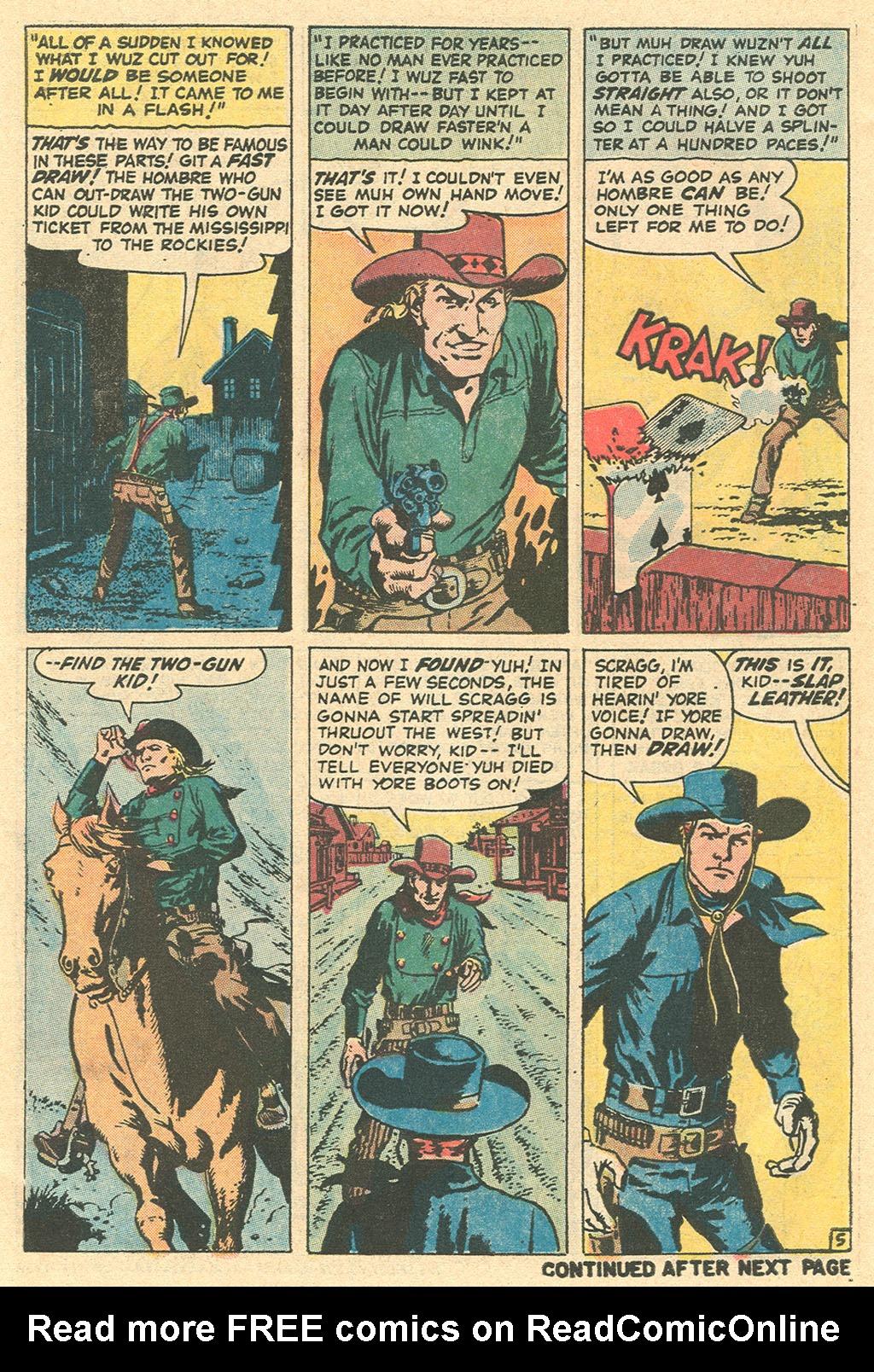 Read online Two-Gun Kid comic -  Issue #113 - 30