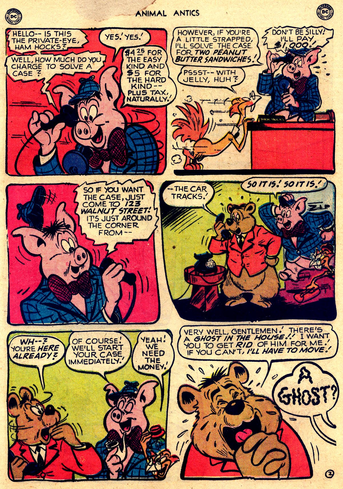 Read online Animal Antics comic -  Issue #26 - 19