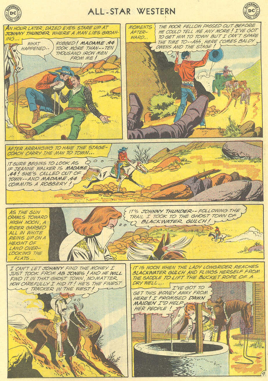 Read online All-Star Western (1951) comic -  Issue #119 - 6