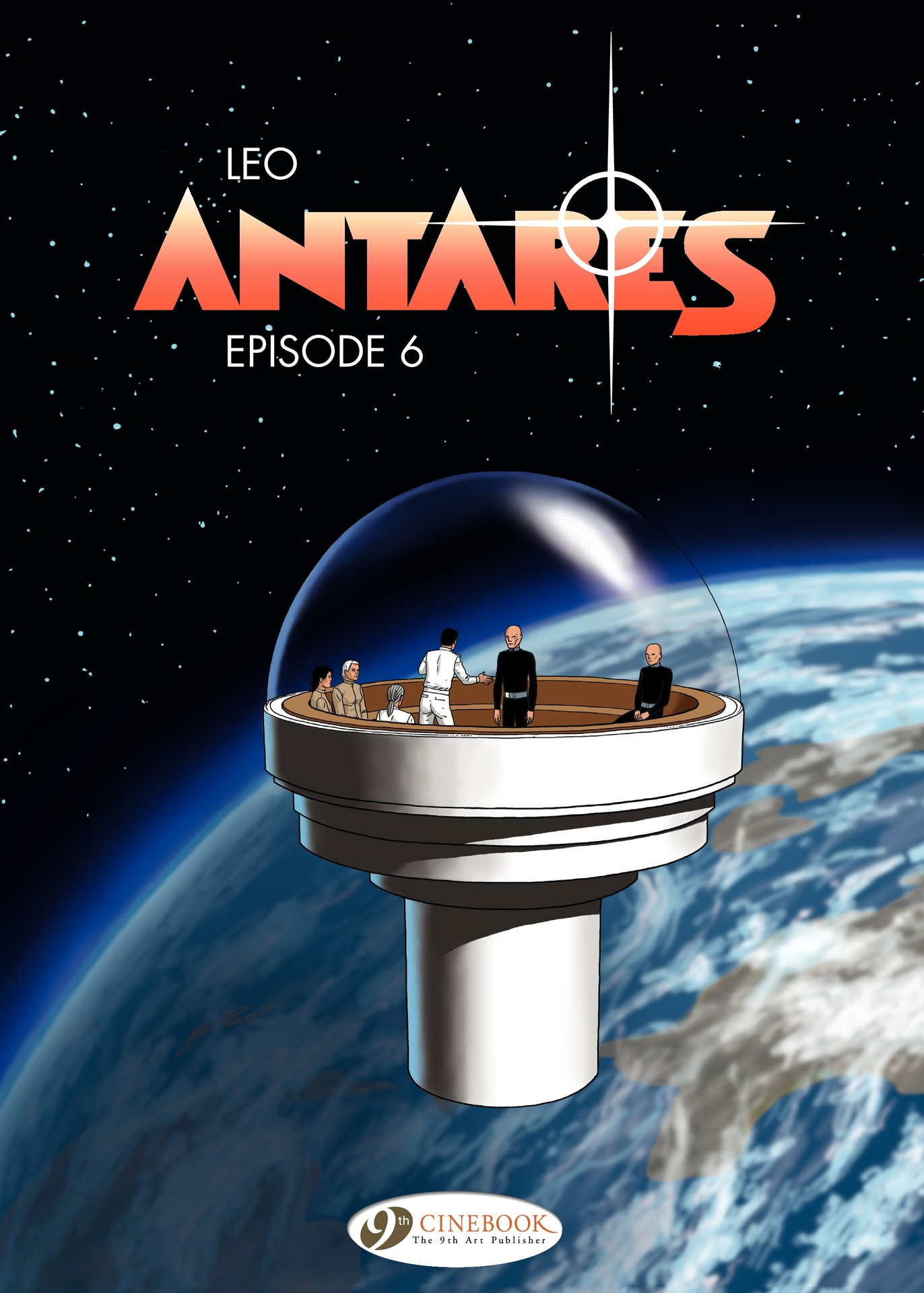 Read online Antares comic -  Issue #6 - 1