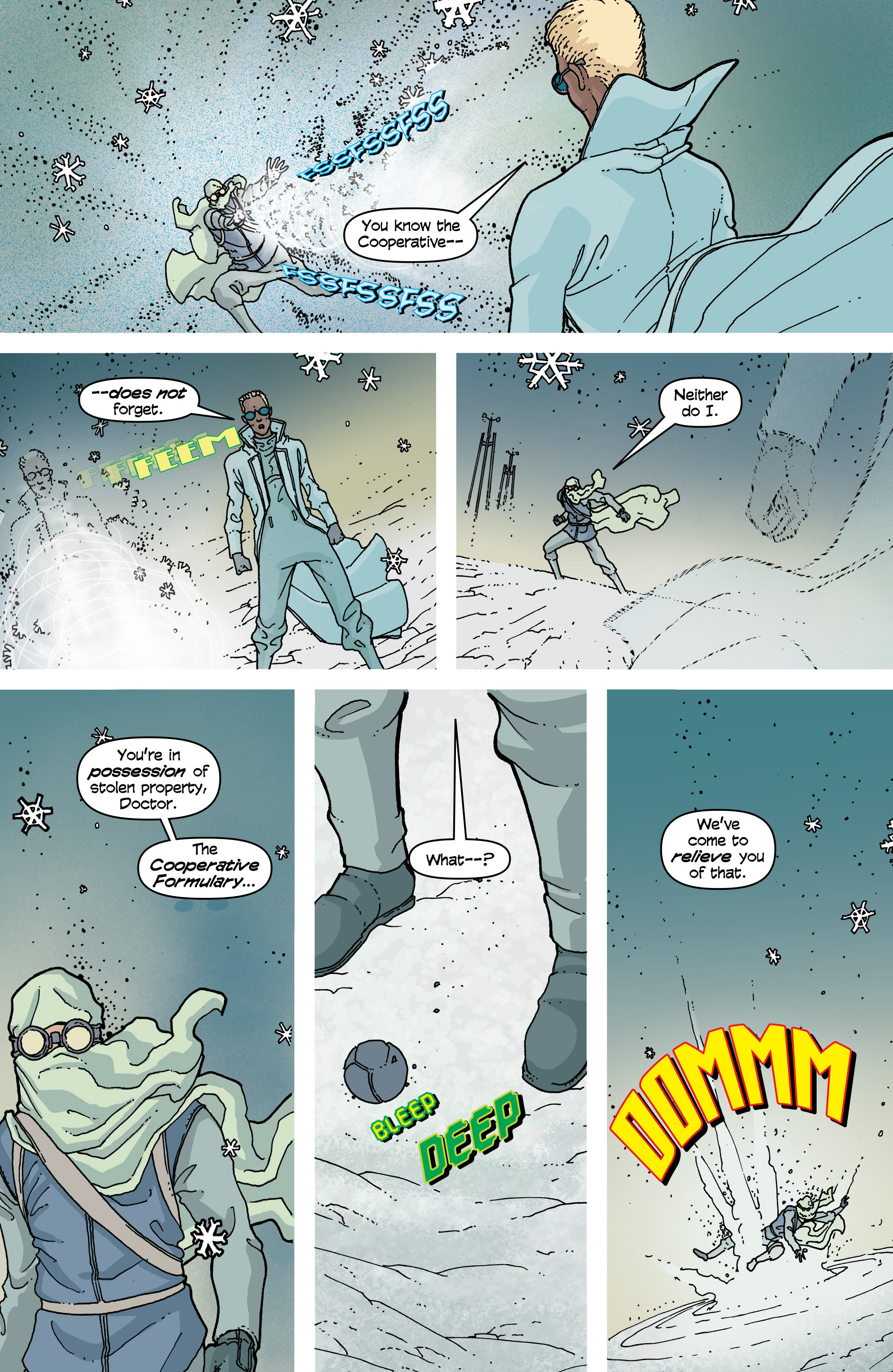 Read online Snowfall comic -  Issue #2 - 24