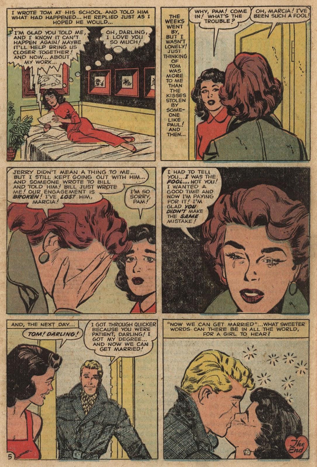 Love Romances (1949) issue 66 - Page 7