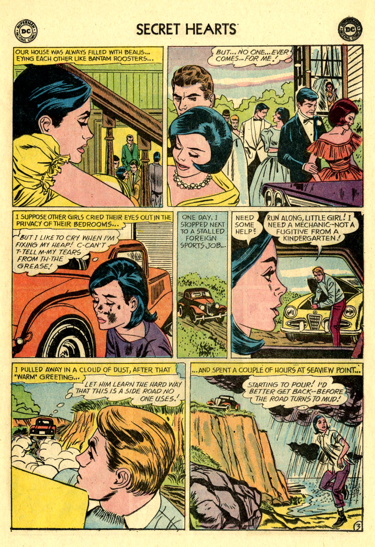 Read online Secret Hearts comic -  Issue #83 - 5
