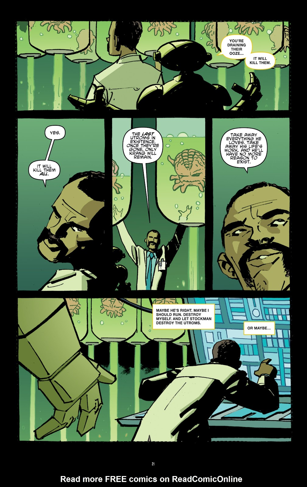 Read online Teenage Mutant Ninja Turtles: The IDW Collection comic -  Issue # TPB 4 (Part 1) - 50