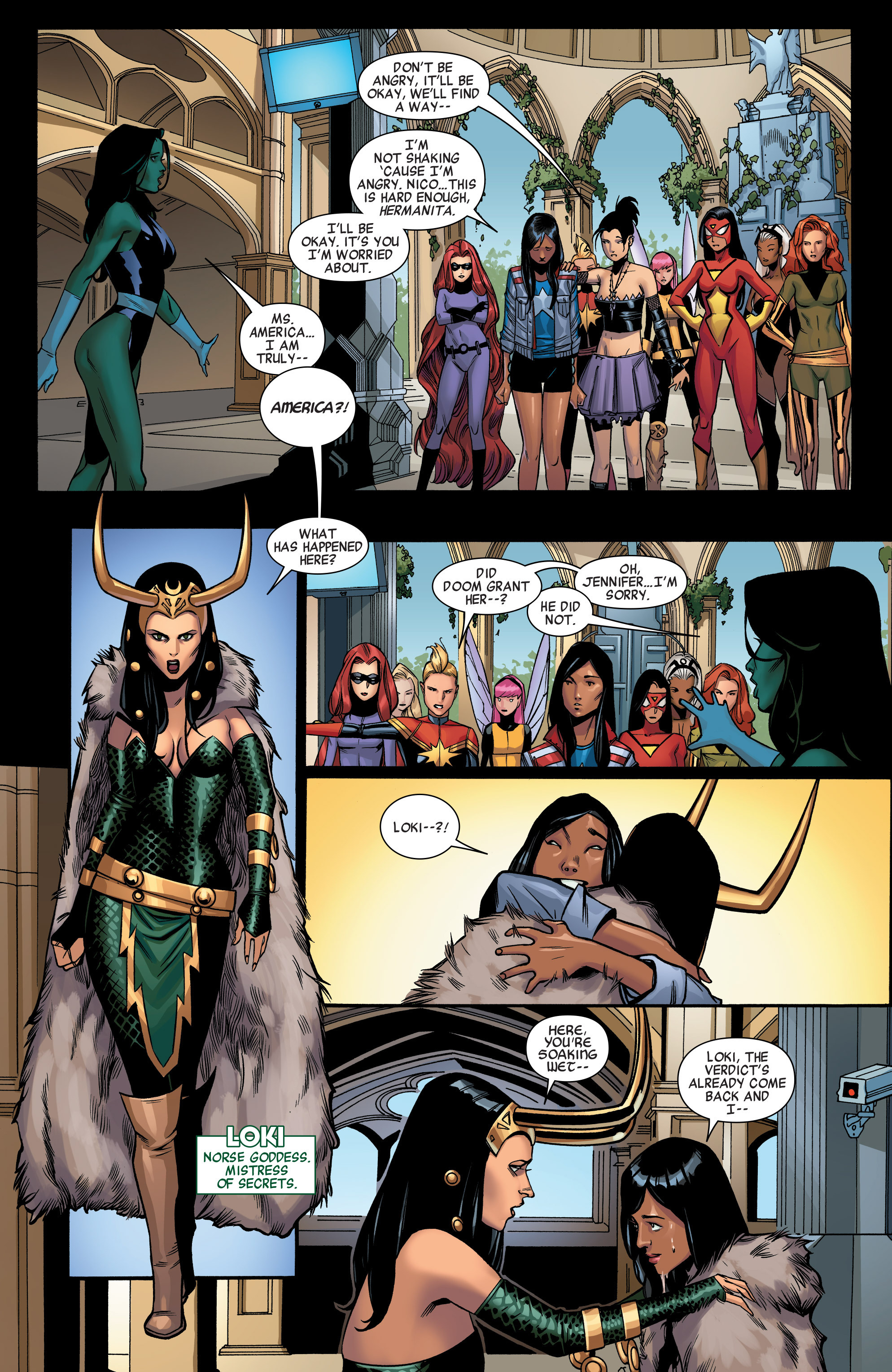 Read online A-Force (2015) comic -  Issue #1 - 13