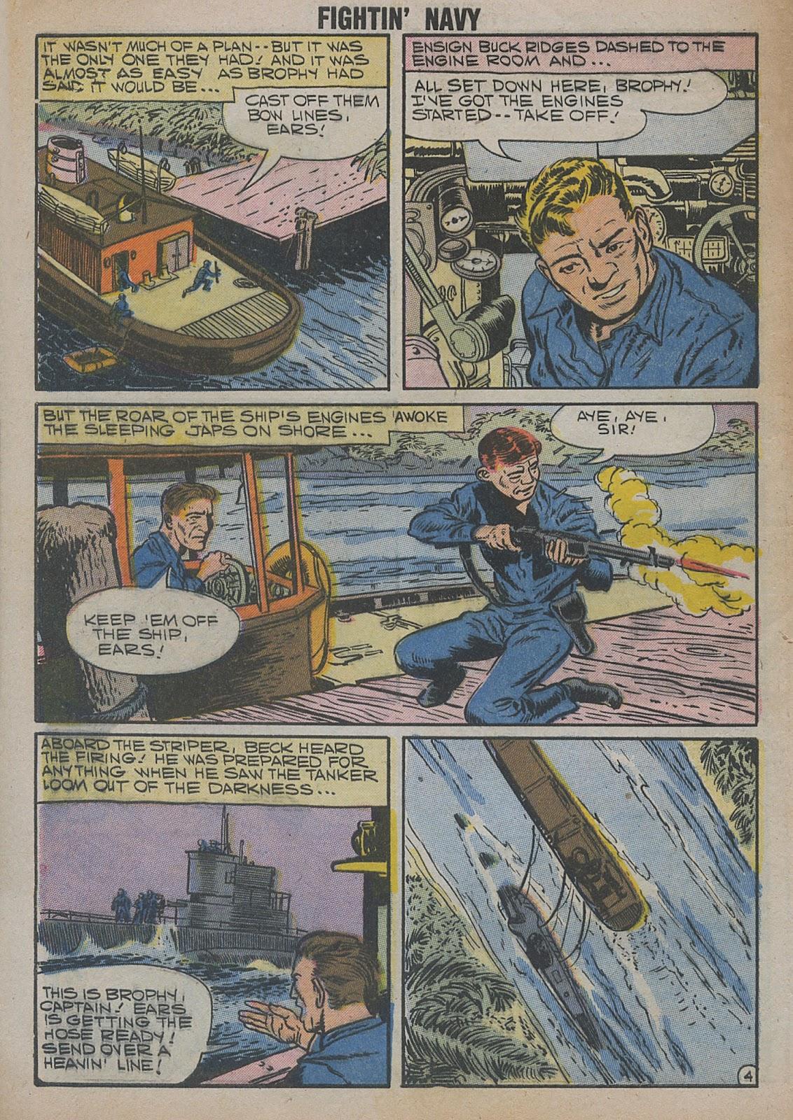 Read online Fightin' Navy comic -  Issue #82 - 6