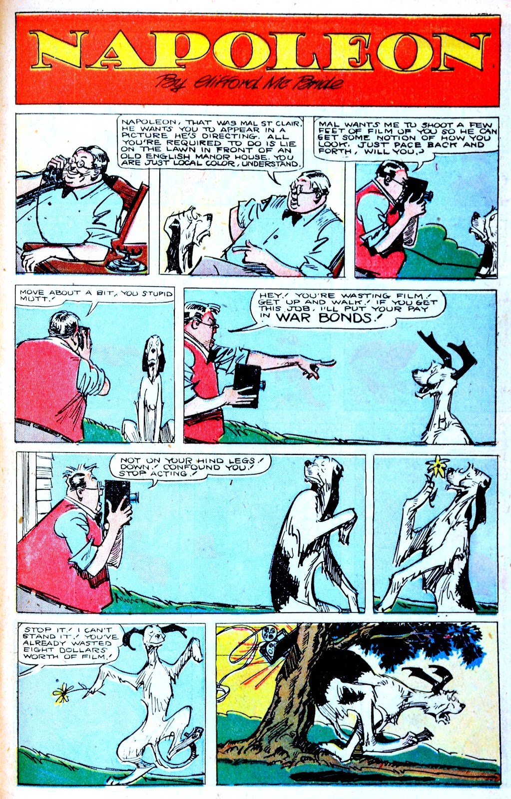 Read online Famous Funnies comic -  Issue #123 - 39