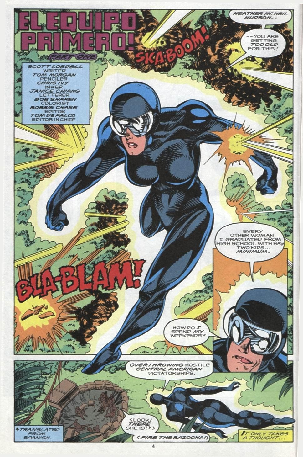 Read online Alpha Flight (1983) comic -  Issue #102 - 5