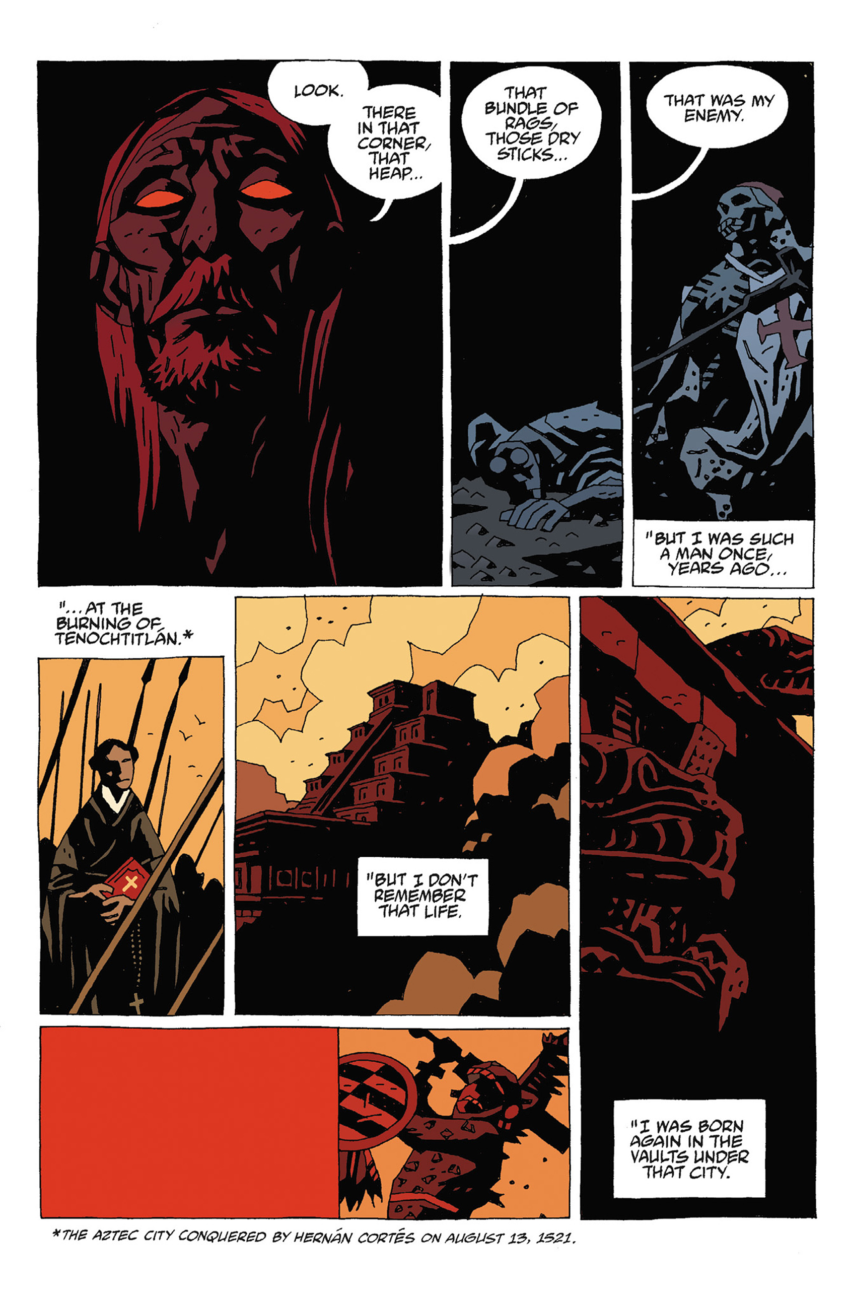 Read online Hellboy: Strange Places comic -  Issue # TPB - 100