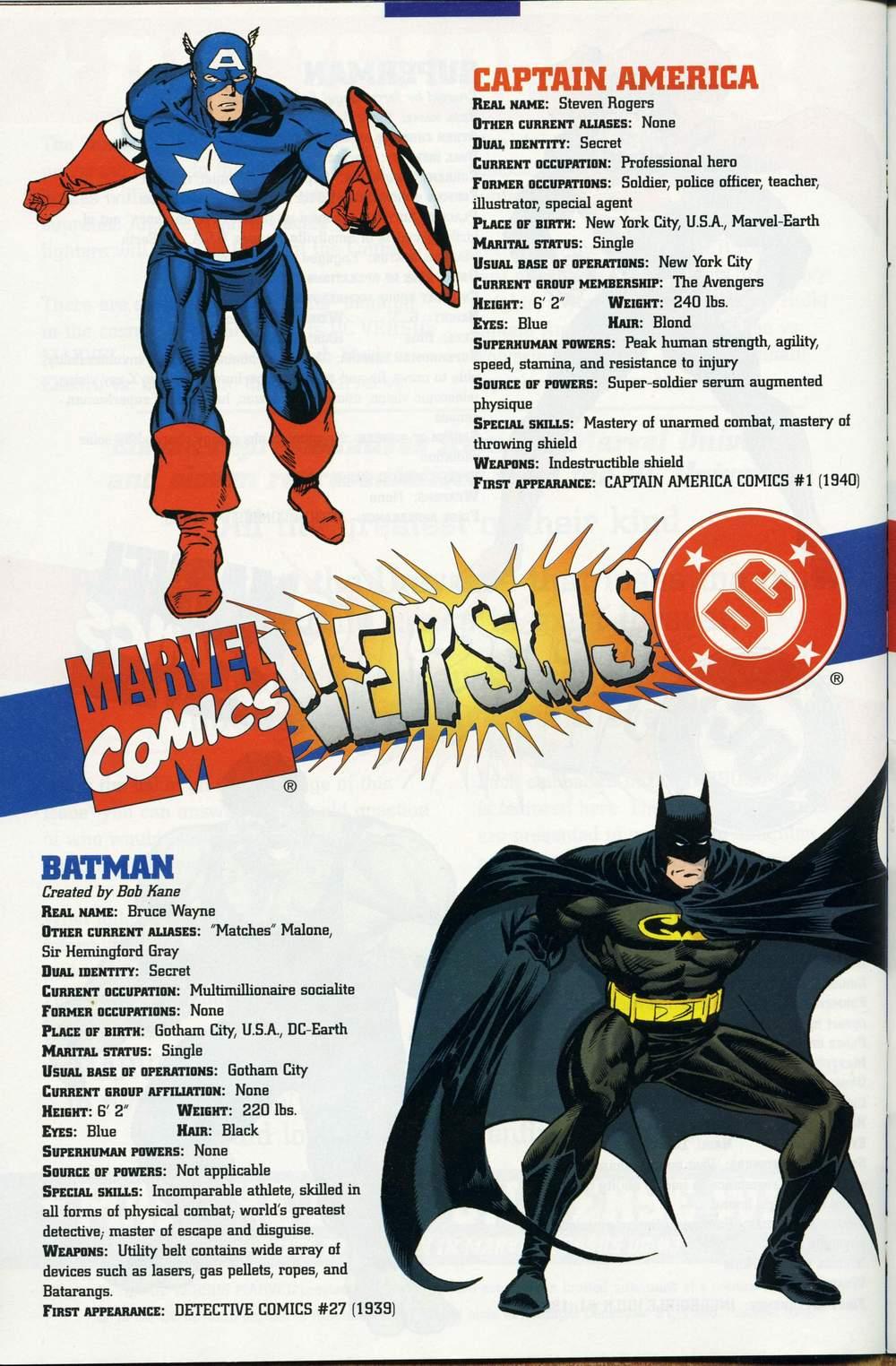 Read online DC Versus Marvel Comics comic -  Issue #1 - 38