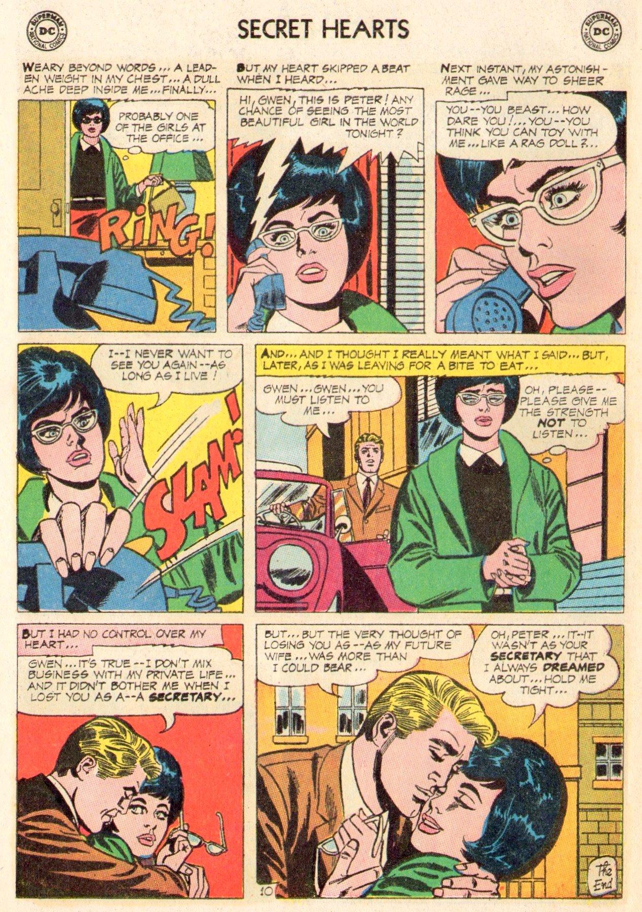 Read online Secret Hearts comic -  Issue #104 - 12