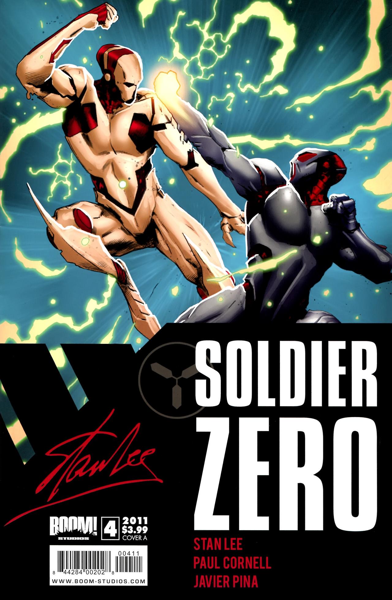 Read online Soldier Zero comic -  Issue #4 - 1