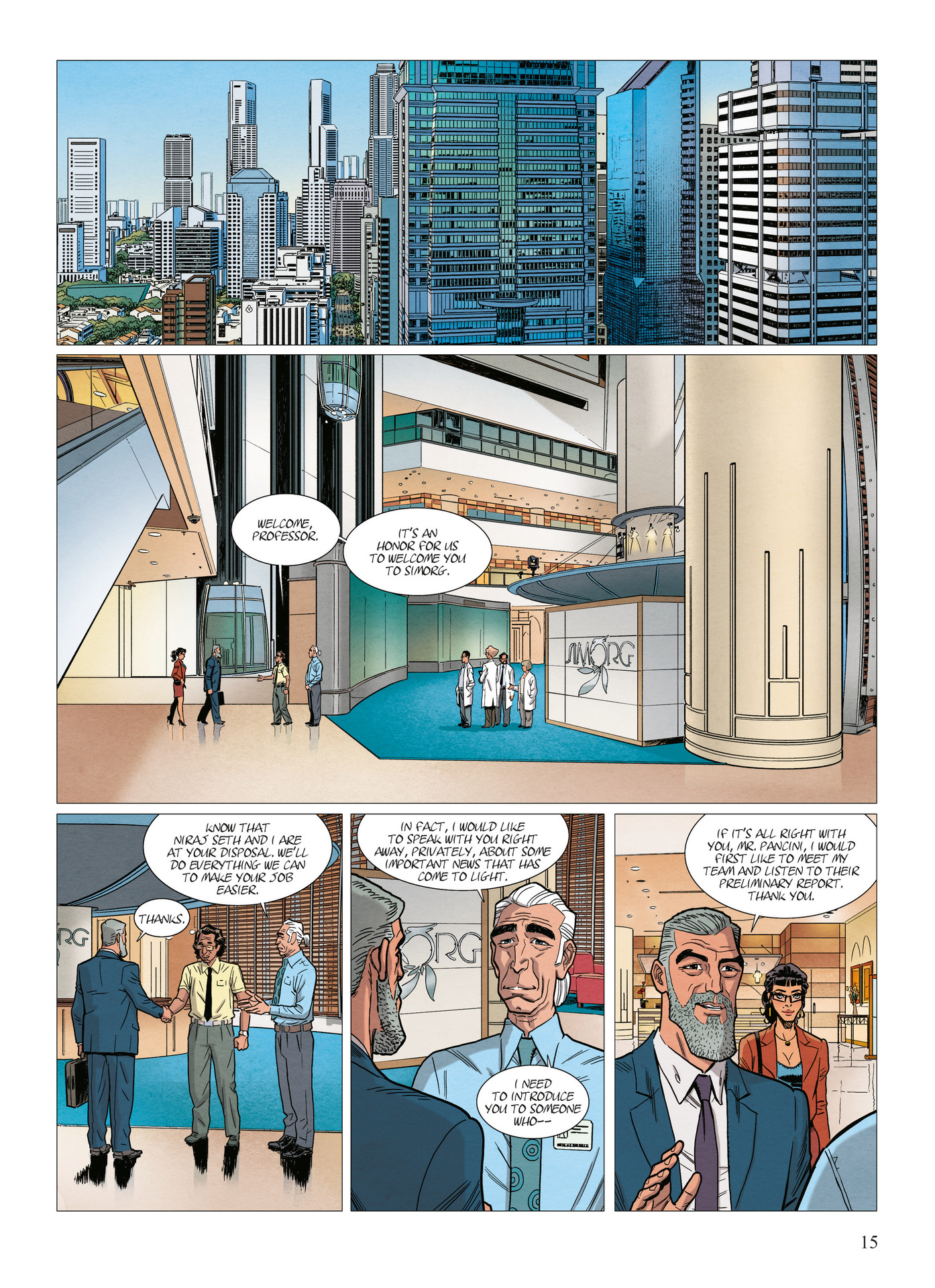 Read online Alter Ego comic -  Issue #10 - 16