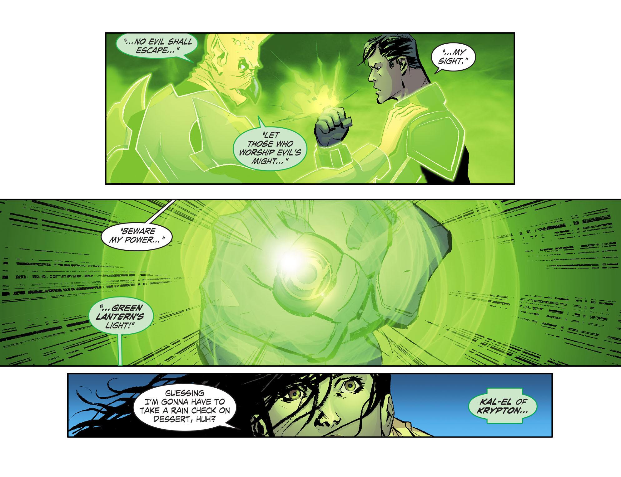 Read online Smallville: Lantern [I] comic -  Issue #1 - 21