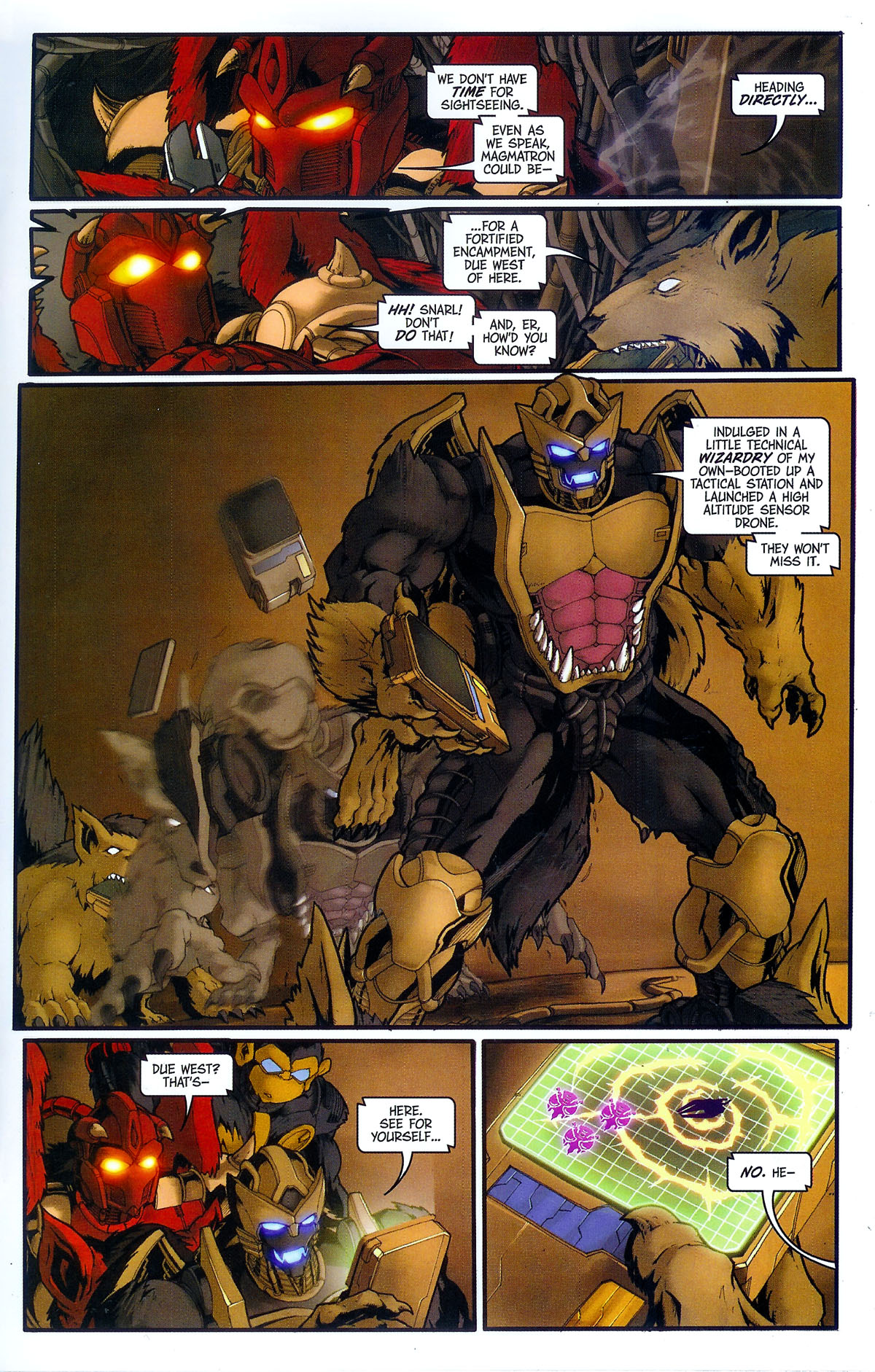 Read online Transformers, Beast Wars: The Gathering comic -  Issue #3 - 16