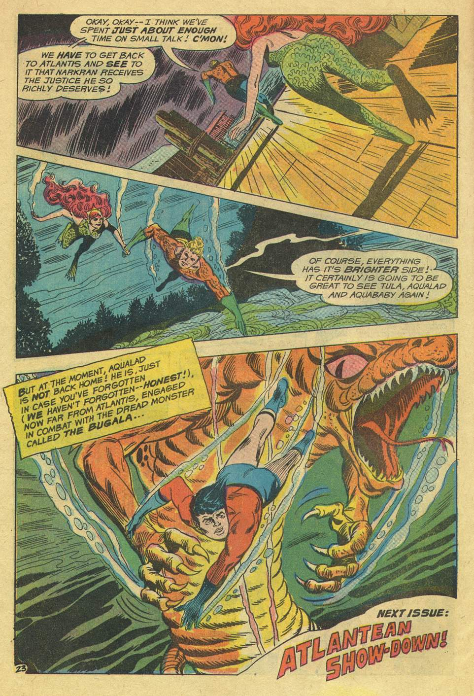 Read online Aquaman (1962) comic -  Issue #46 - 30