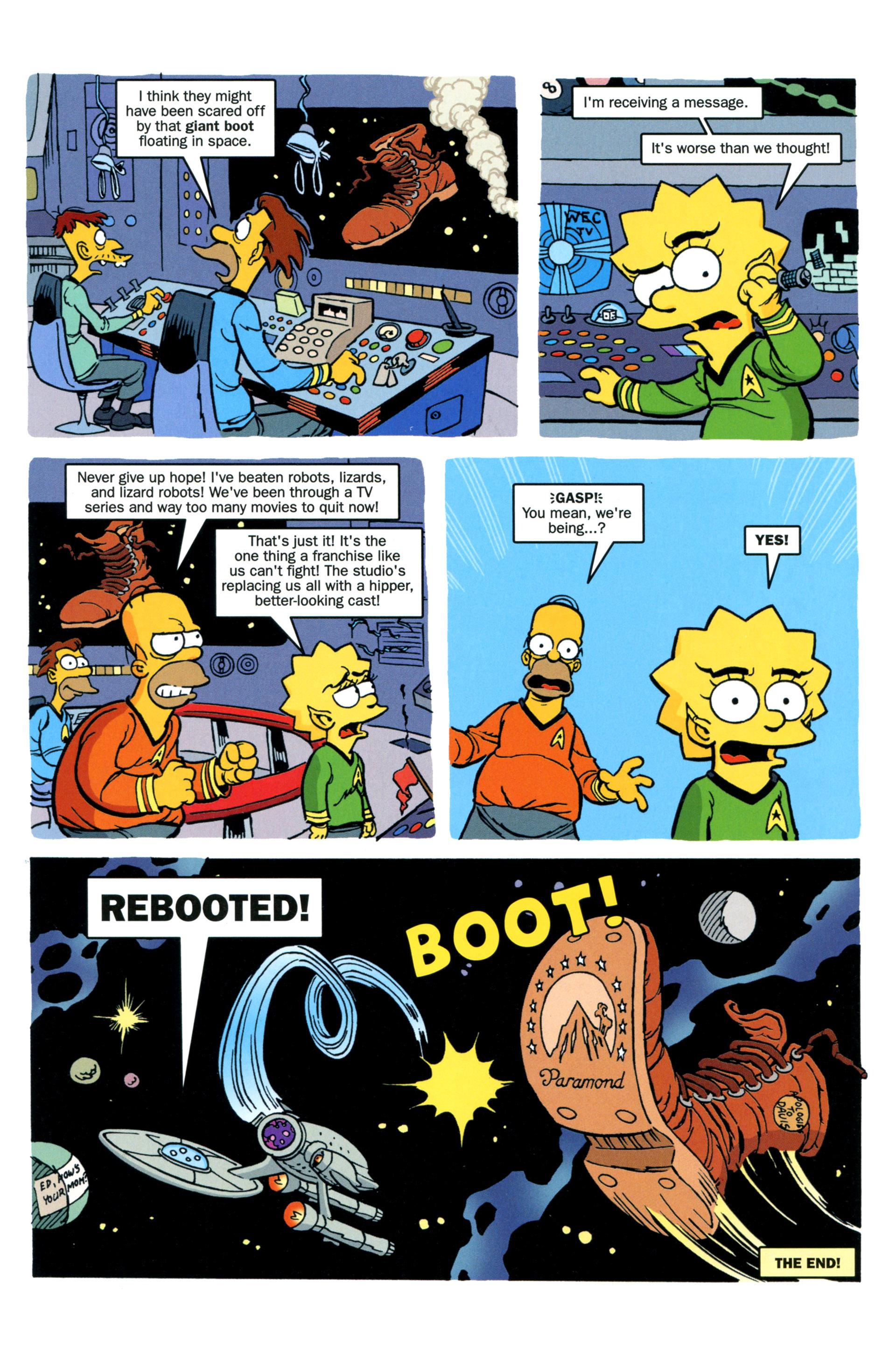 Read online Simpsons Comics comic -  Issue #203 - 30