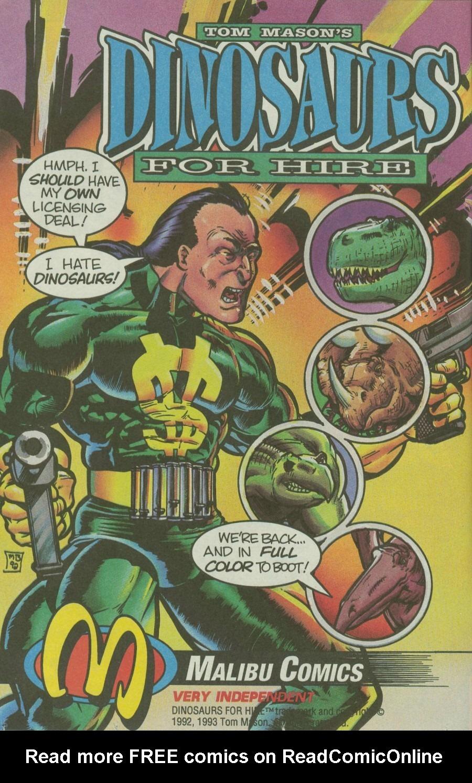 Read online Ex-Mutants comic -  Issue #4 - 11