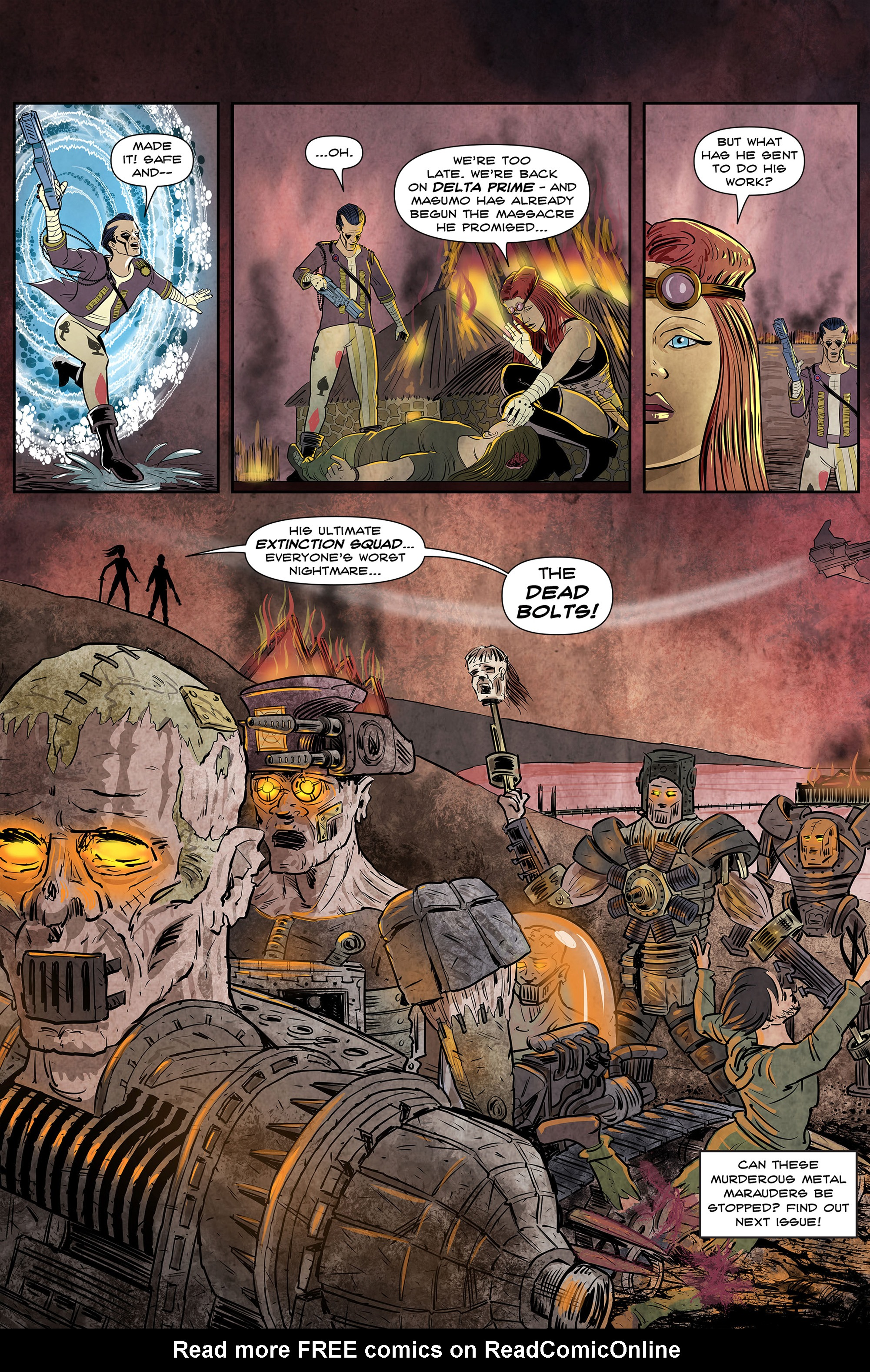 Read online 100% Biodegradable comic -  Issue #12 - 22