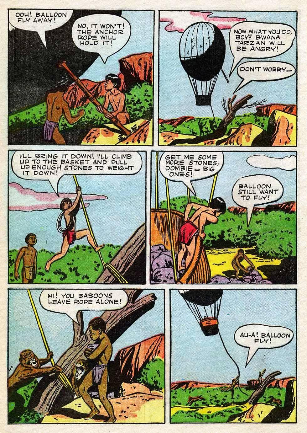 Tarzan (1948) issue 7 - Page 8