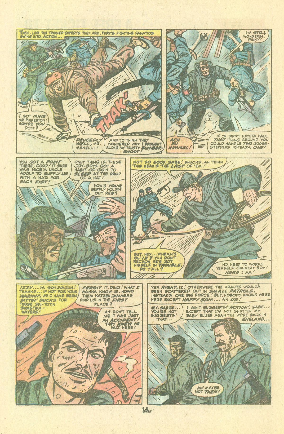 Read online Sgt. Fury comic -  Issue #134 - 16