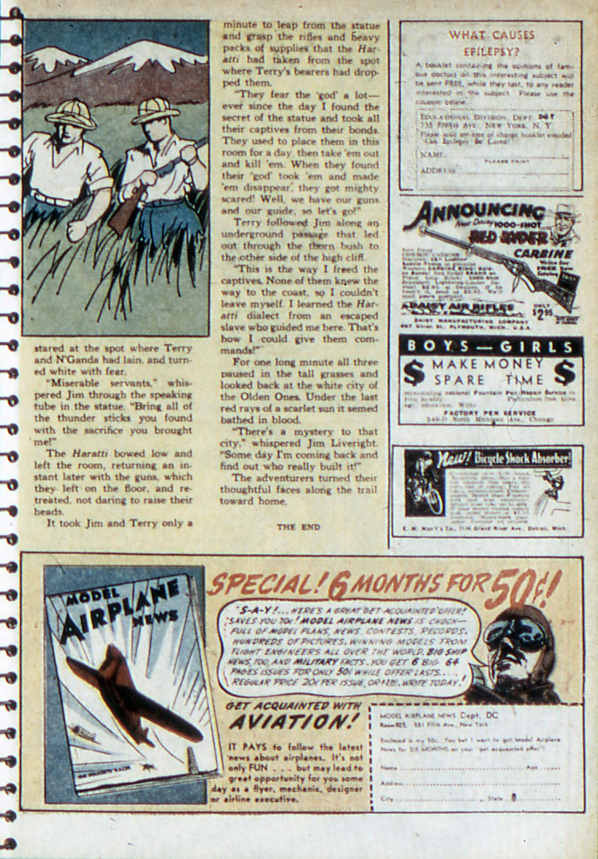 Read online Adventure Comics (1938) comic -  Issue #52 - 28
