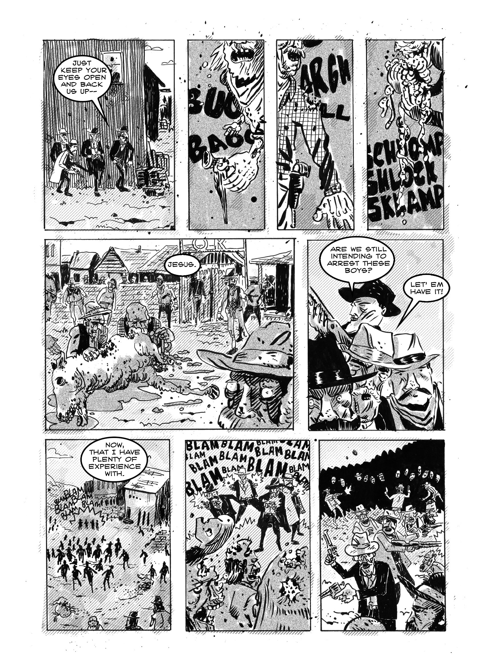 Read online FUBAR comic -  Issue #3 - 165