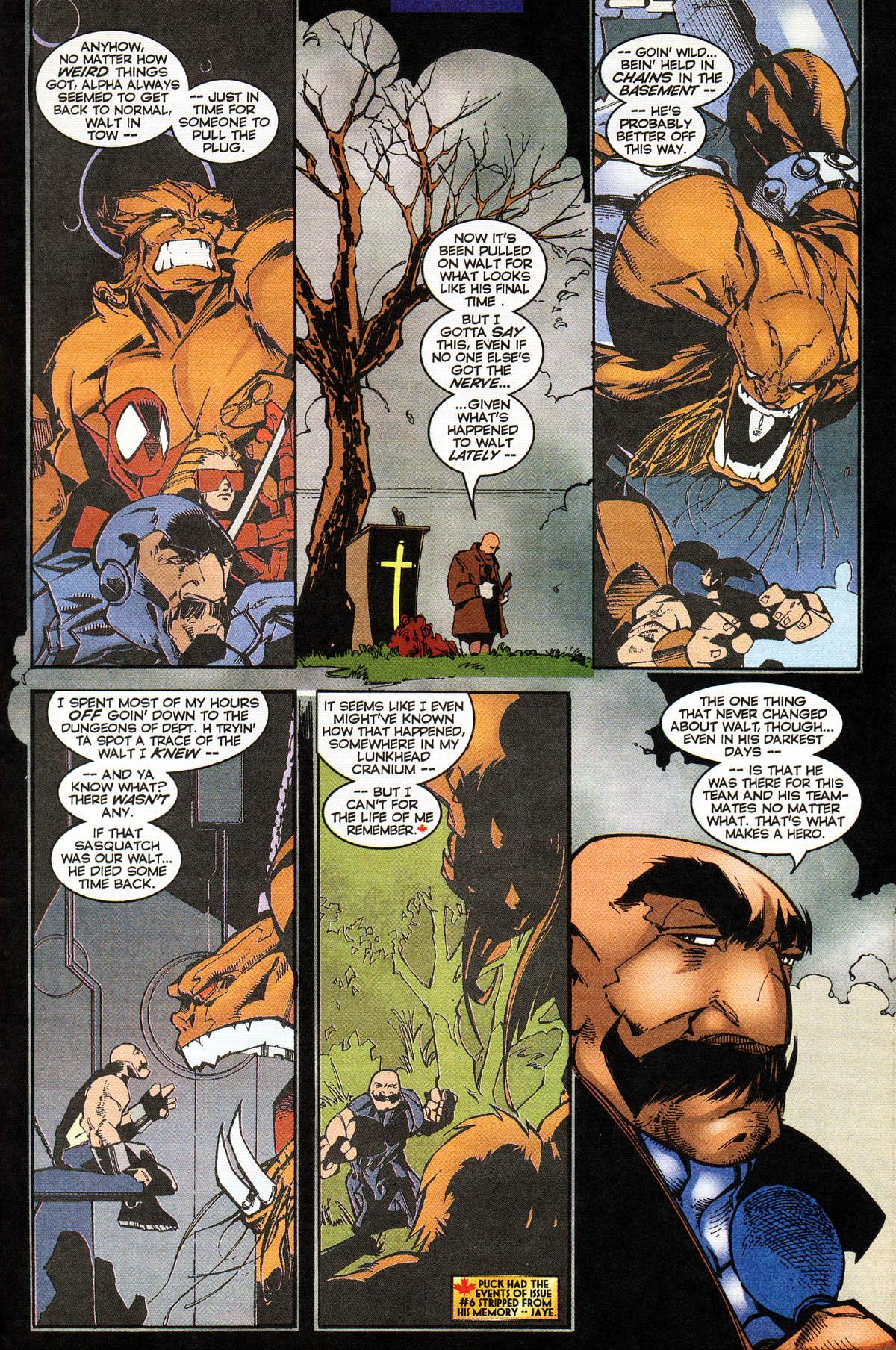 Read online Alpha Flight (1997) comic -  Issue #14 - 25