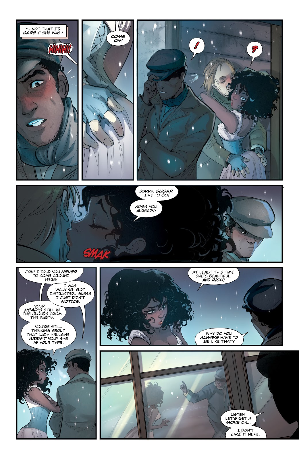 Read online Mirka Andolfo's Mercy comic -  Issue #3 - 10