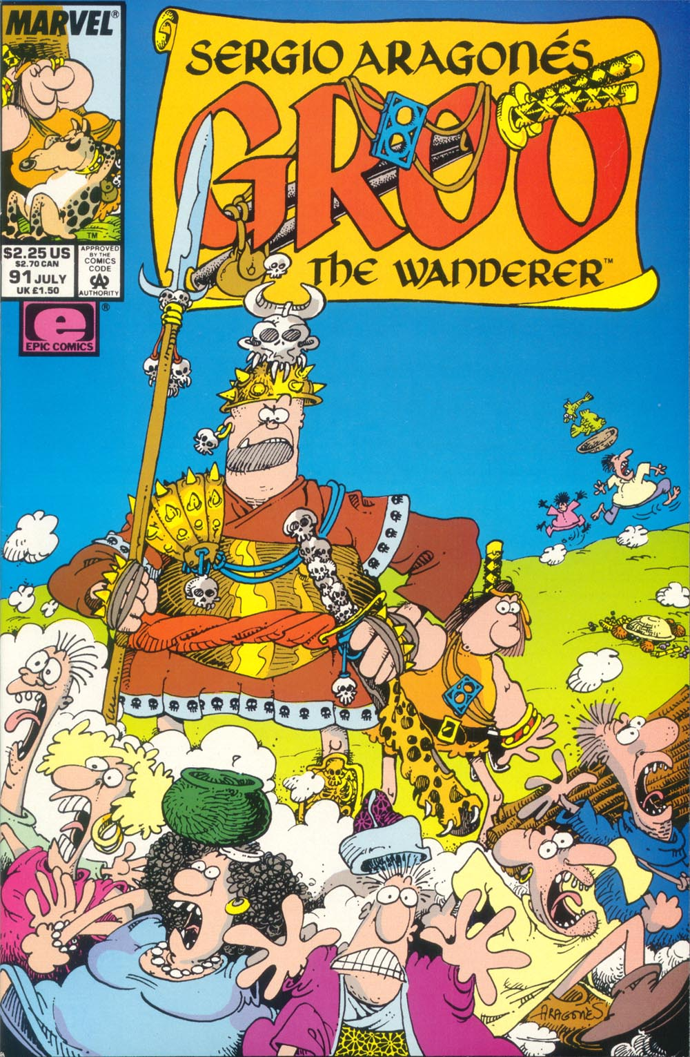 Read online Sergio Aragonés Groo the Wanderer comic -  Issue #91 - 1