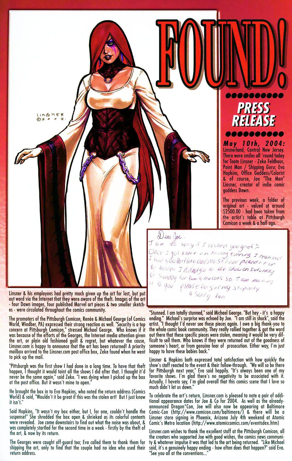 Read online Dawn: Three Tiers comic -  Issue #4 - 26