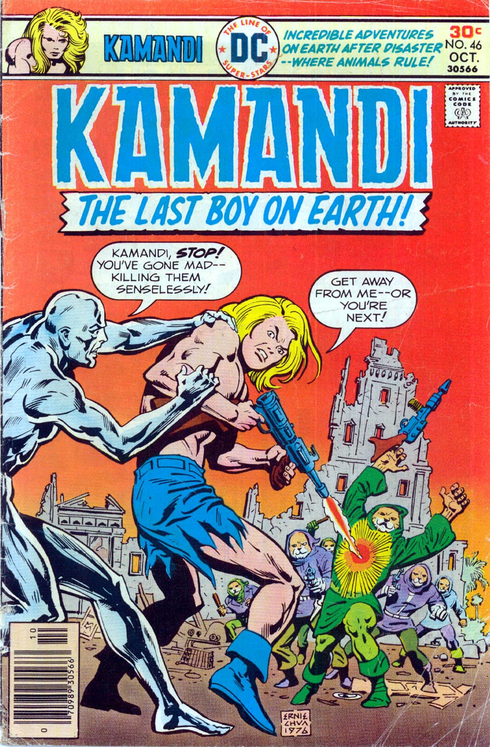 Kamandi, The Last Boy On Earth issue 46 - Page 1