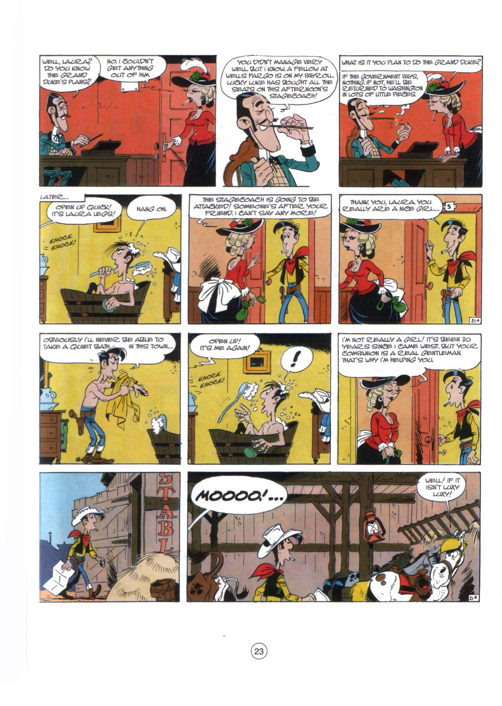 Read online A Lucky Luke Adventure comic -  Issue #29 - 22