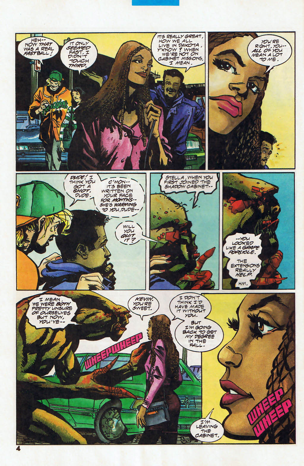 Read online Shadow Cabinet comic -  Issue #13 - 5