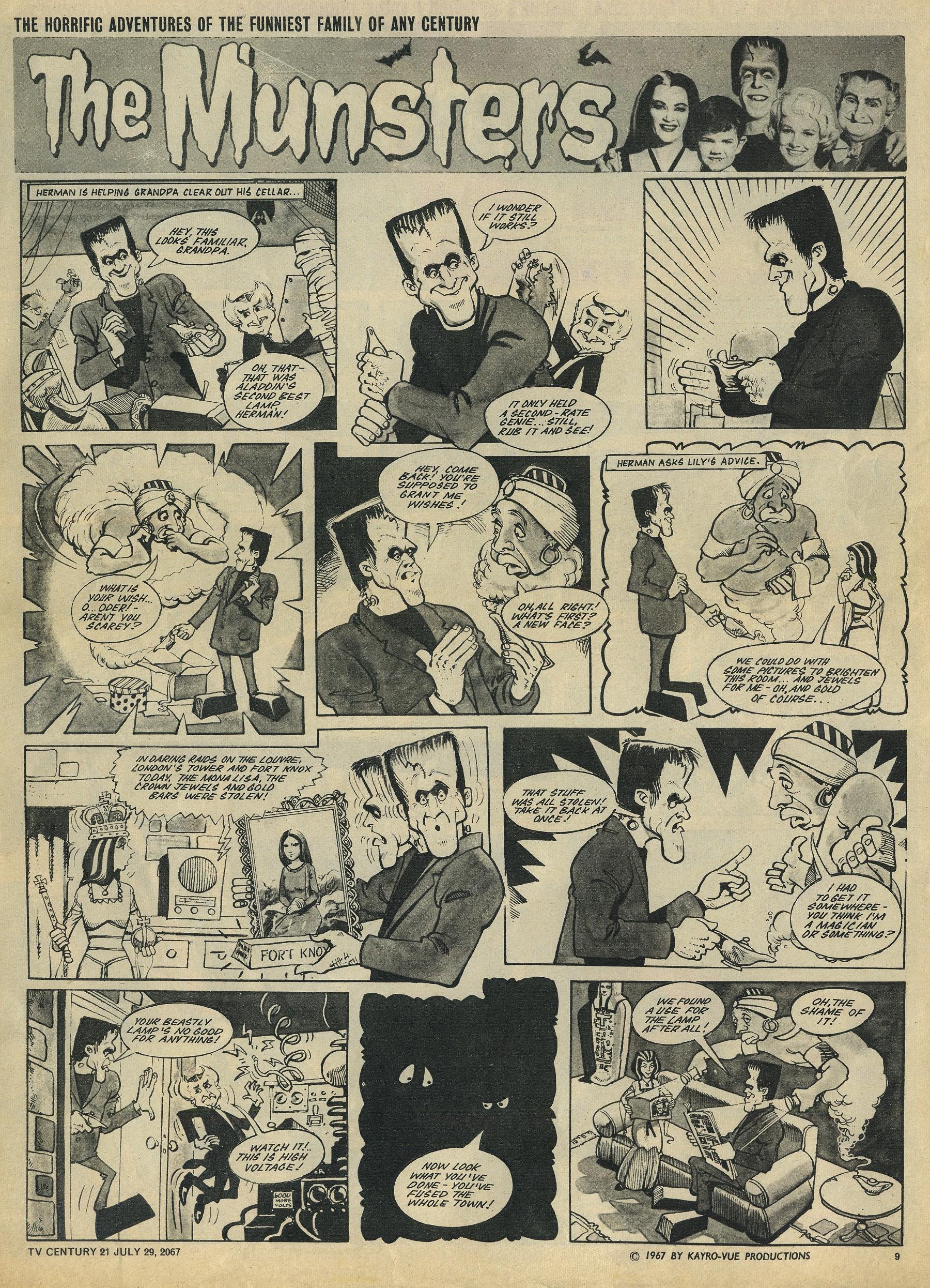Read online TV Century 21 (TV 21) comic -  Issue #132 - 9