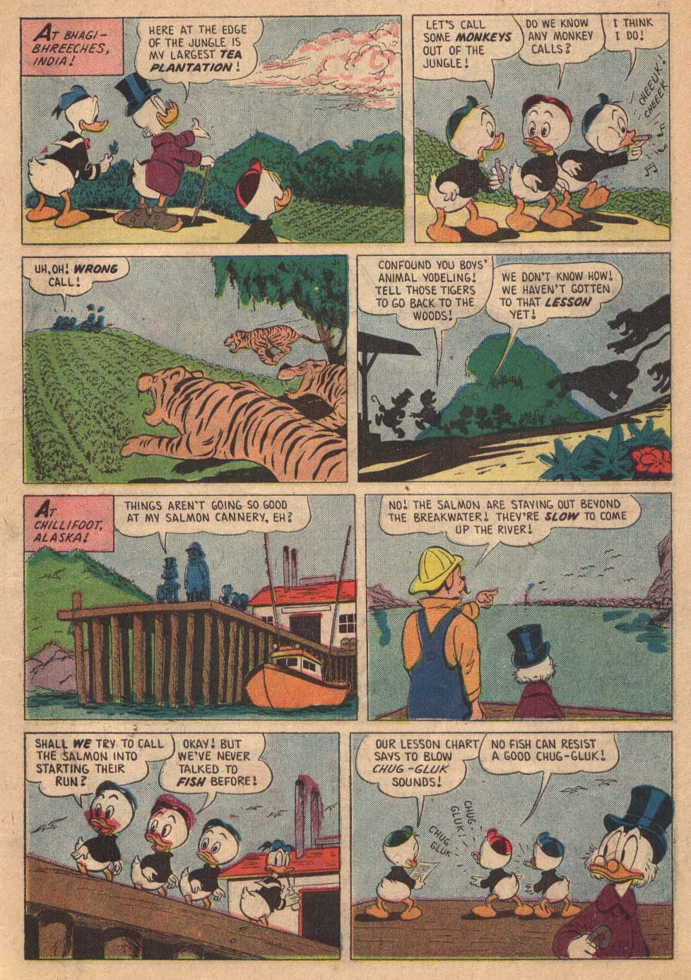 Read online Uncle Scrooge (1953) comic -  Issue #19 - 7