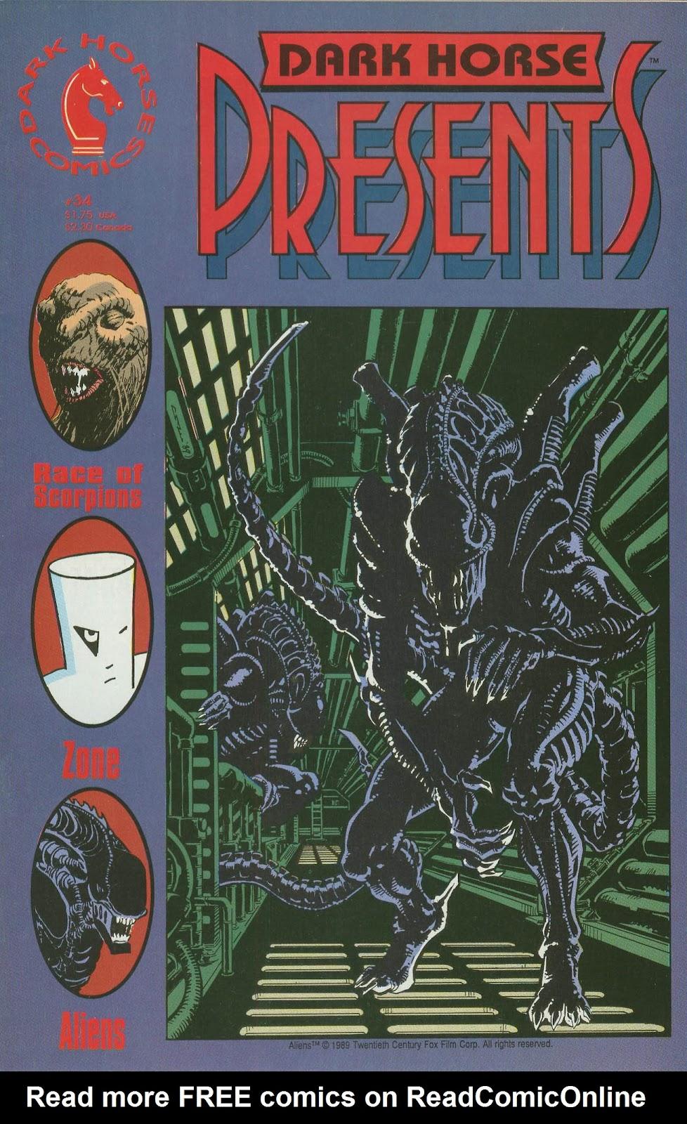 Dark Horse Presents (1986) issue 34 - Page 1