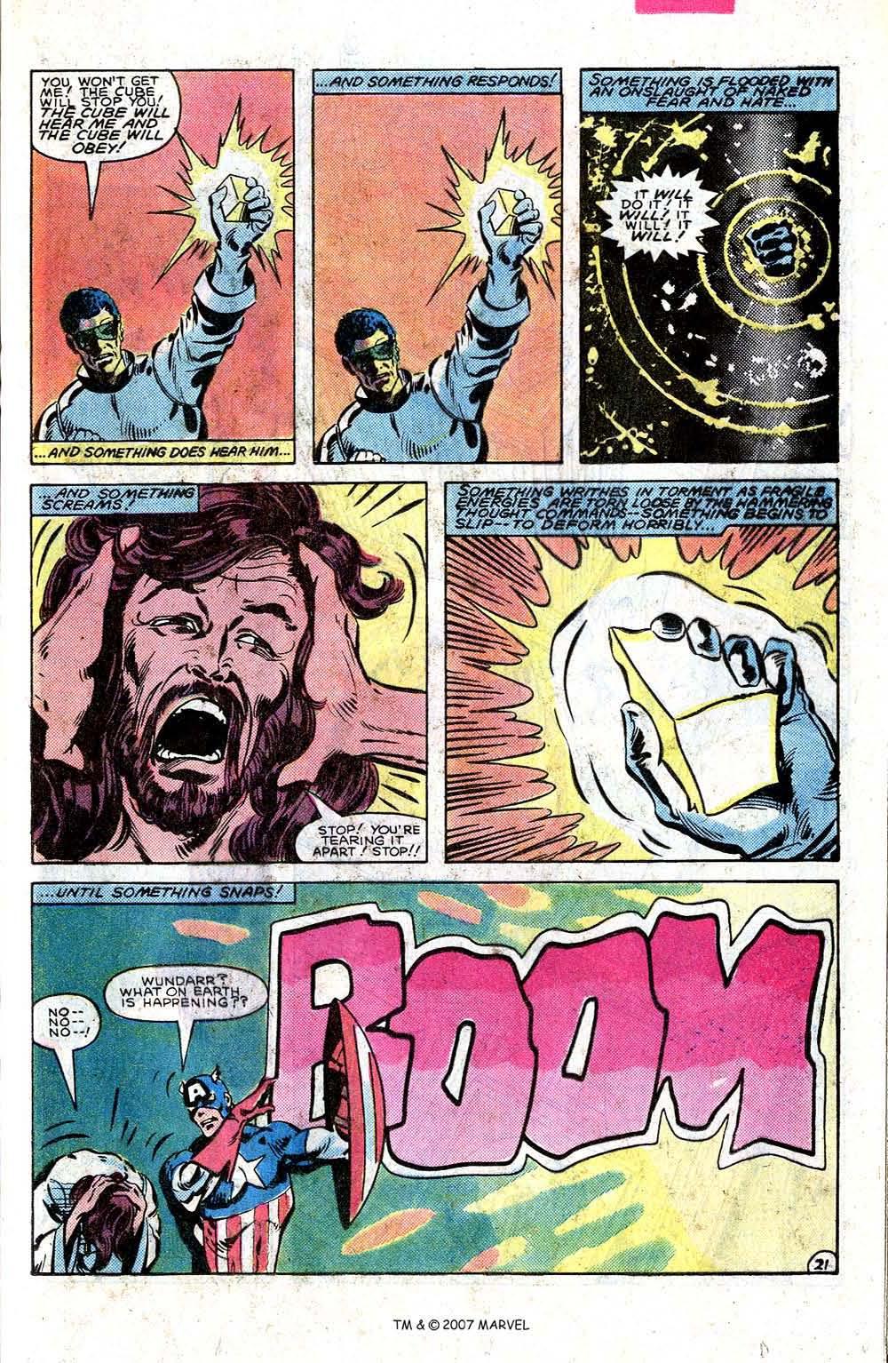 Read online Captain America (1968) comic -  Issue # _Annual 7 - 29