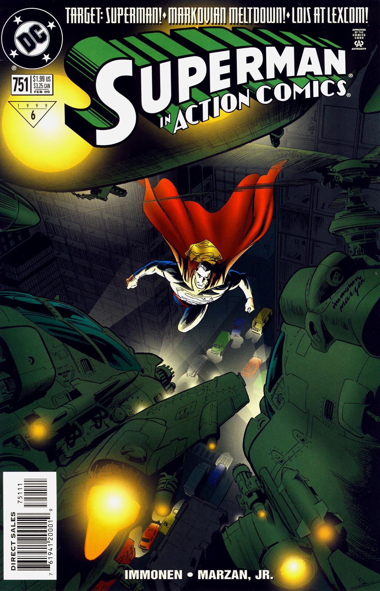 Action Comics (1938) 751 Page 1