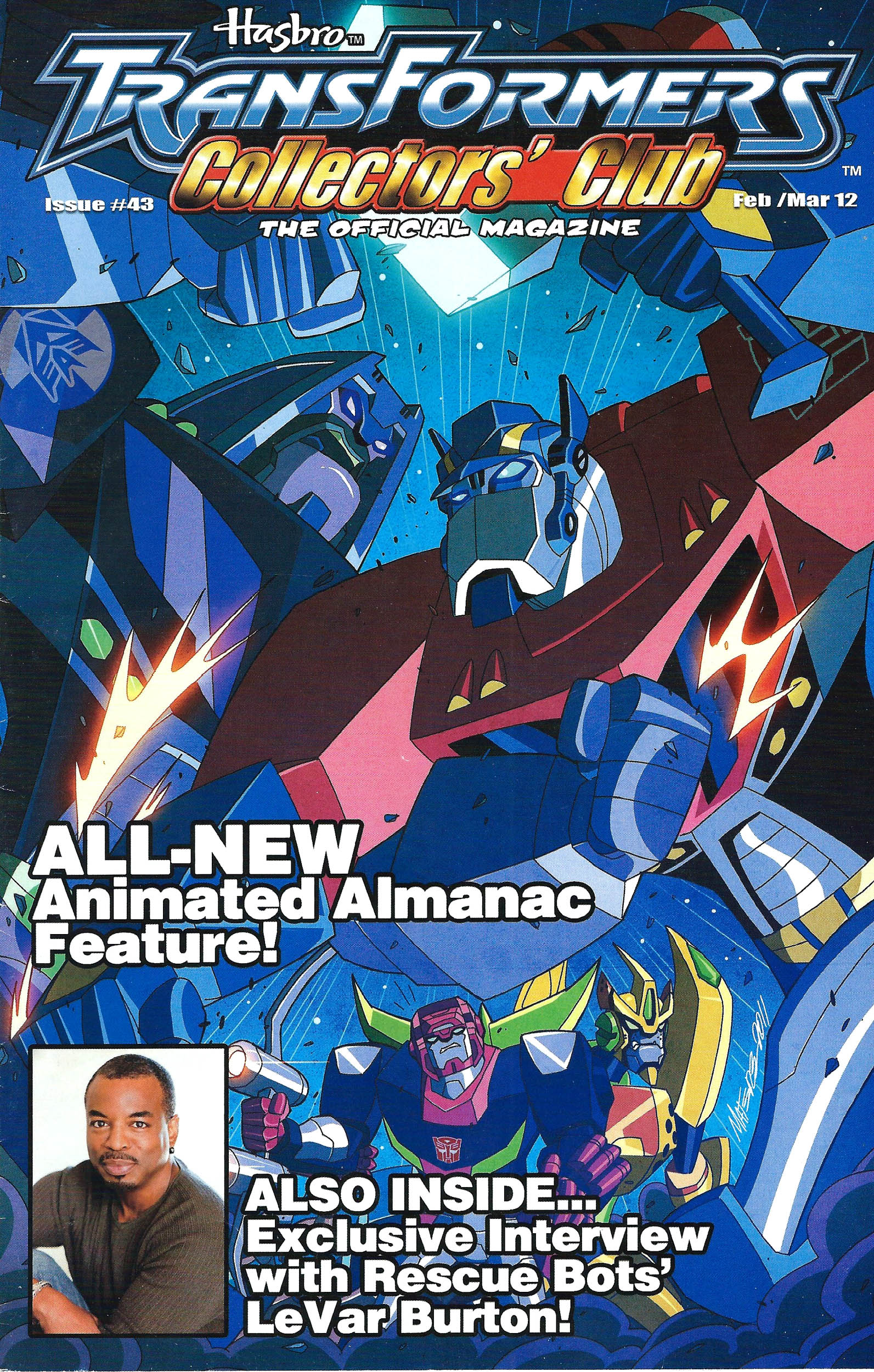 Read online Transformers: Collectors' Club comic -  Issue #43 - 1