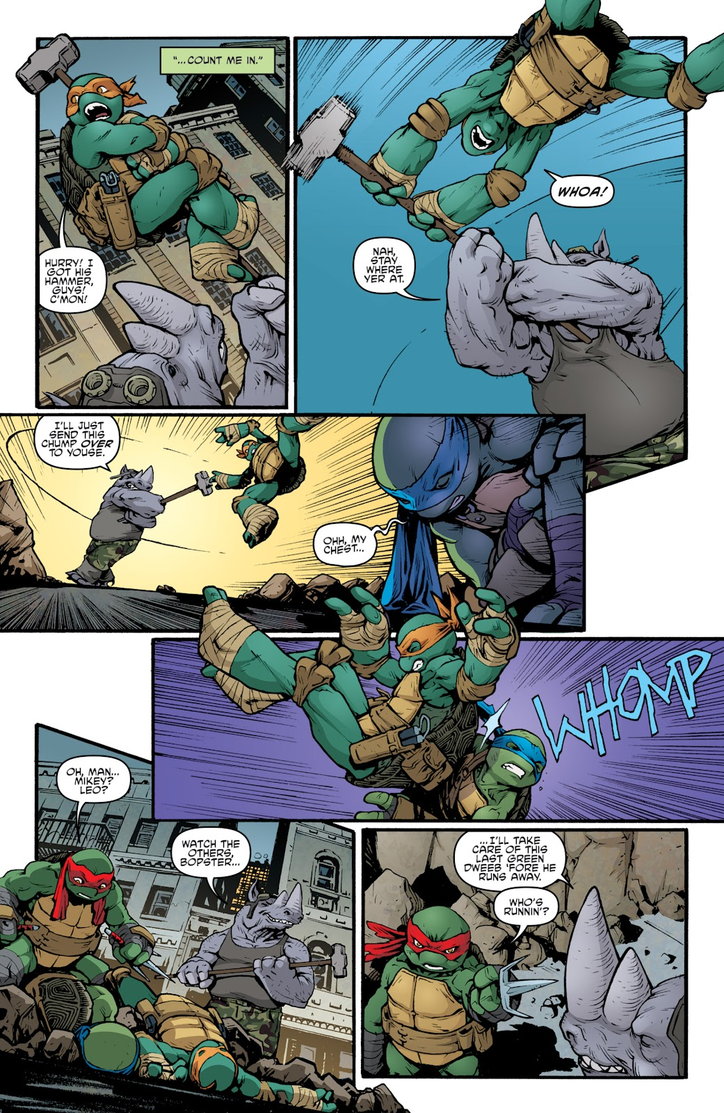 Read online Teenage Mutant Ninja Turtles: The IDW Collection comic -  Issue # TPB 5 (Part 2) - 54