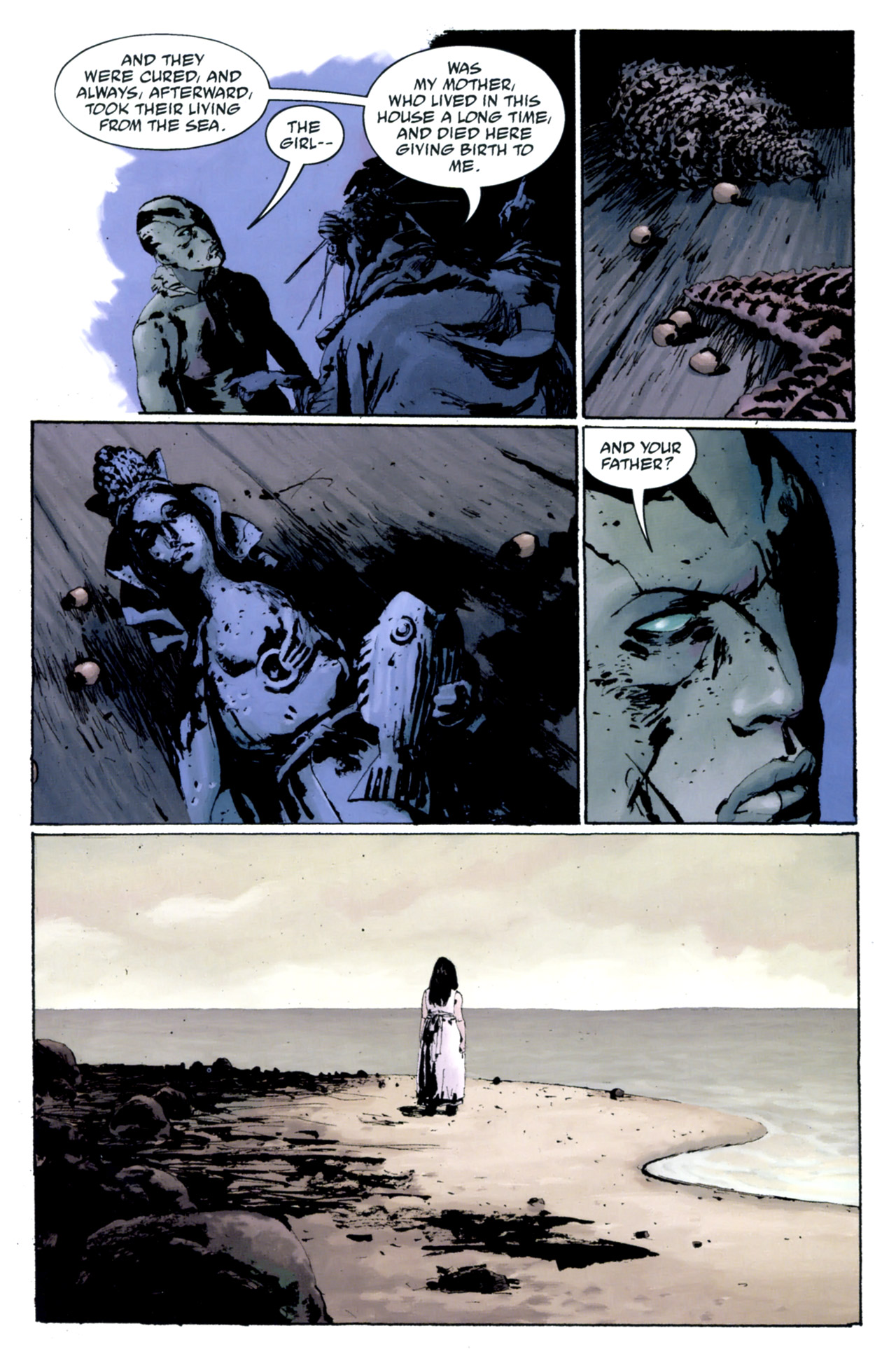 Read online Abe Sapien: The Drowning comic -  Issue #4 - 14