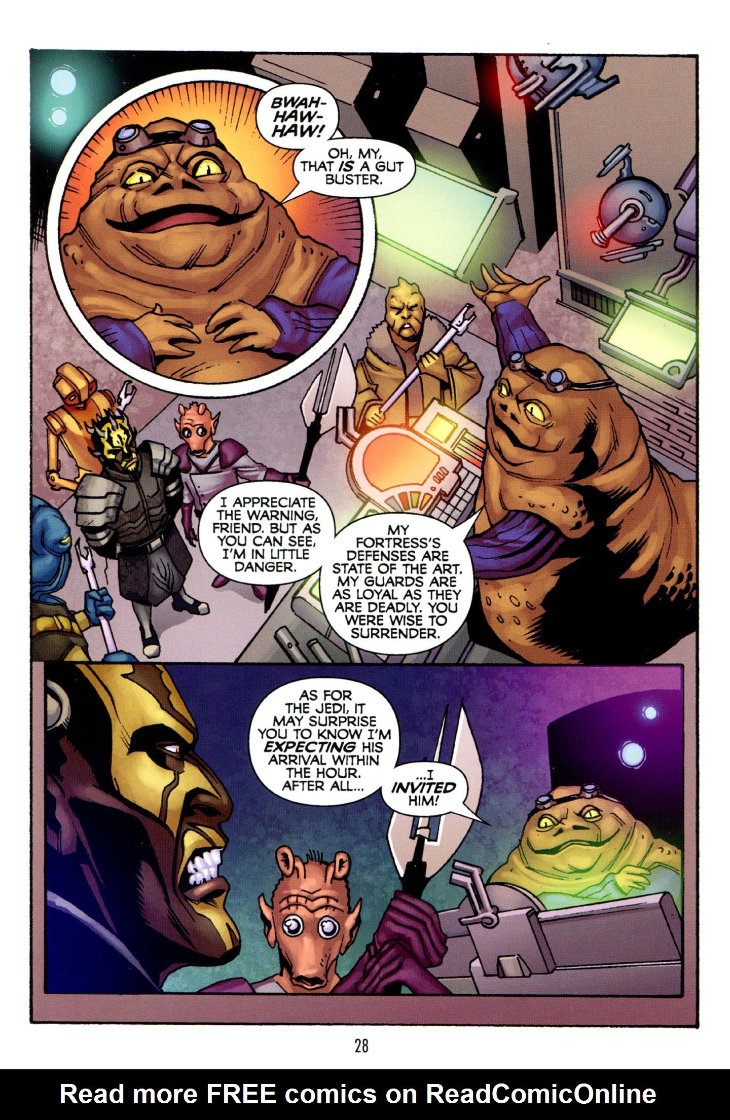 Read online Star Wars: The Clone Wars - Strange Allies comic -  Issue # Full - 29