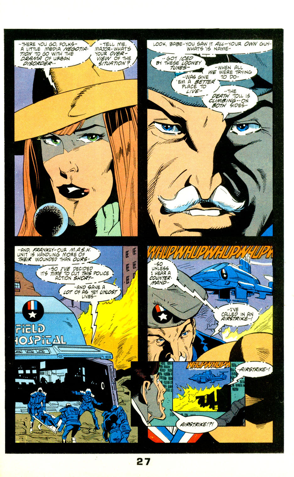 Read online American Flagg! comic -  Issue #29 - 30